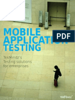 TekMindz's Testing Solutions for Enterprises
