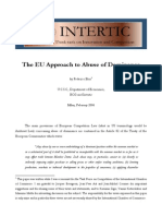 EU Antitrust