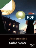 Steinbeck, John - [Cannery 02] Dulce jueves [13164] (r1.0).epub