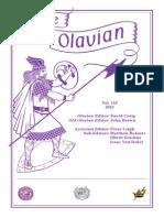 The Olavian Magazine 2013