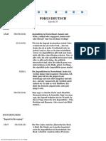 Fokus Deutsch - Episode 26