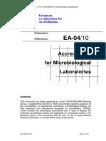 EA-4-10 Acreditarea Laboratoarelor de Microbiologie%