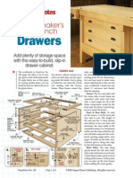 Cabinetmakers Workbench Drawers (1)