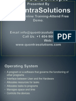 Linux Operating System by Quontra Solutions