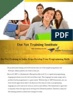 Dot Net Training Institute Delhi India