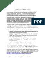 NEW - MERGED Capital Procurement Checklist FINAL_ 2007-12-11