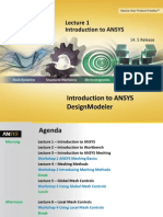 Mesh-Intro 14.5 L01 Introduction to ANSYS
