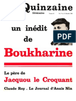quinzaine littéraire 84