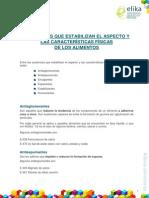 2.2.Sustancias Que Estabilizan El Aspecto y Las Características Físicas de Los Alimentos (1)