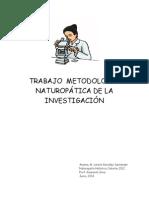 Trabajo de Metodología Naturopática de La Investigación