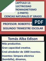 CAPÍTULO 12 electricidad electromagnetismo I-Parte 2013.pptx
