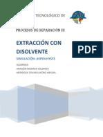 Extraccion Con Disolvente