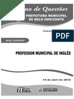 Professor Municipal de Inglês Petro