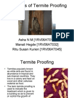 Principles of Termite Proofing - BCM Seminar
