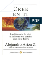 97158443 Cree en Ti Alejandro Ariza Libro Edicion