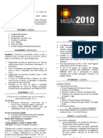 Missão 2010 (calendarização) impressão frente e verso