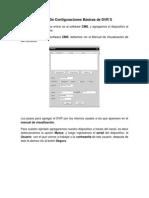 Manual de Configuraciones Basicas de DVR04