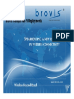 Campus Wi-Fi Powered by BroVis