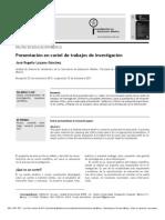 Lozano 2012_Presentación en Cartel de Trabajos de Investigación