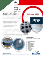 Belzona 1321 (Ceramic S-Metal) - Product Flyer