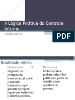 A Lógica Política Do Controle Interno