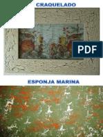 Tecnicas de Pintura en Madera