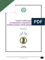 Plano Curricular de  Desenvolvimento e Negócios