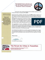 FCT 2012 Kirkuk - Programme