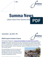 Summa Group July 2014 PT3 News