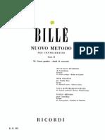 Bille - Nuovo Metodo - Vol.6