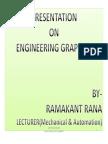 Presentation on Engineering-Graphics