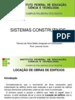 Sistemas Construtivos Aula 3