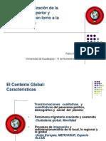 Internacionalización de La Educación Superior