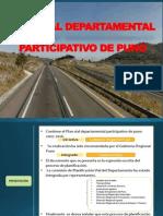 Plan Vial Departamental Participativo de Puno