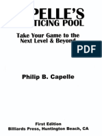 Phil Capelle Practicing Pool
