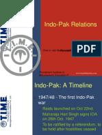 Indo Pak Relations
