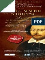 Shakespeare Panel