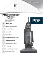 Bissell Powerforce Bagless Turbo Manual