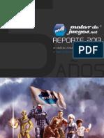 Mdj_reporte2013 Industria de Videojuegos Mx