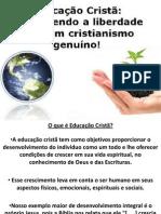 Apresentação educaçao cristã