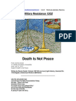 Military Resistance 12G2 Death is Not Peace