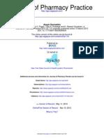 Journal of Pharmacy Practice 2010 Ghazvini 110 6