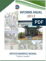 Pan Informe Igntg 2012