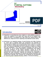 18741787 Theory of Metal CuttingTool Geometry