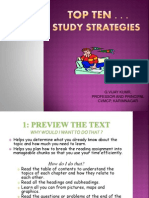 10 Best Study Strategies