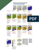 Calendario_2013 - Aprovado Resolucao 001-12 - CONSELHO ESCOLAR