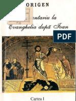Origen - Comentariu la Evanghelia dupa Ioan