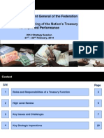 Institutional Restructuring of the Nation's Treasury for Improved Performance