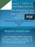 Presentacion - Regimenes y Contribuyentes