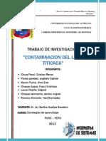 MONOGRAFIA de La Contaminacion Ambiental (1)